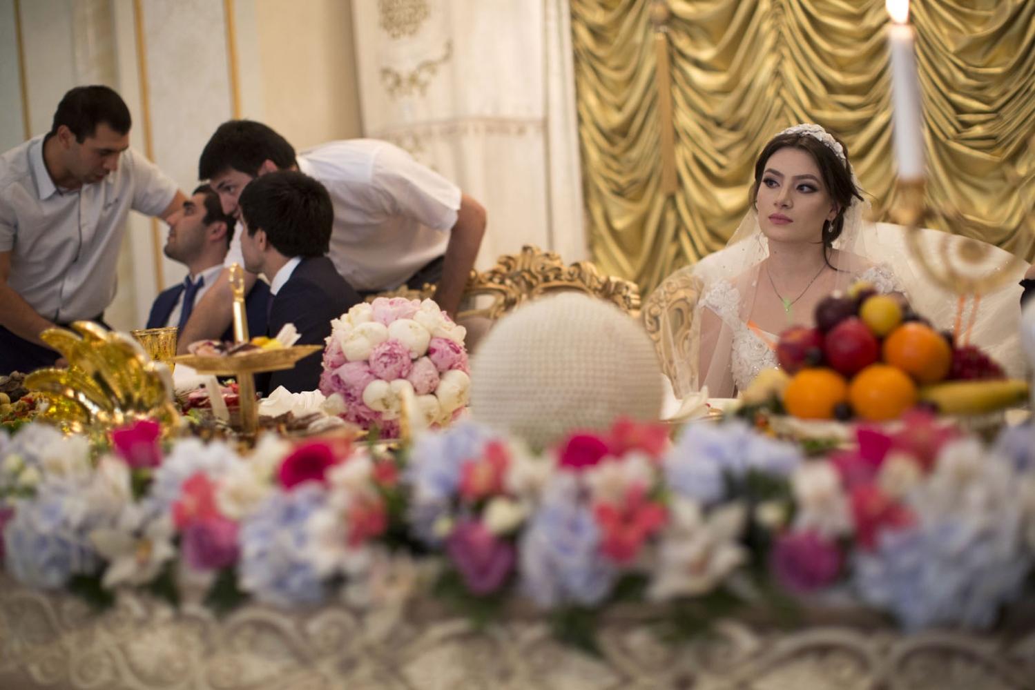 Фото кавказских девушек на свадьбе