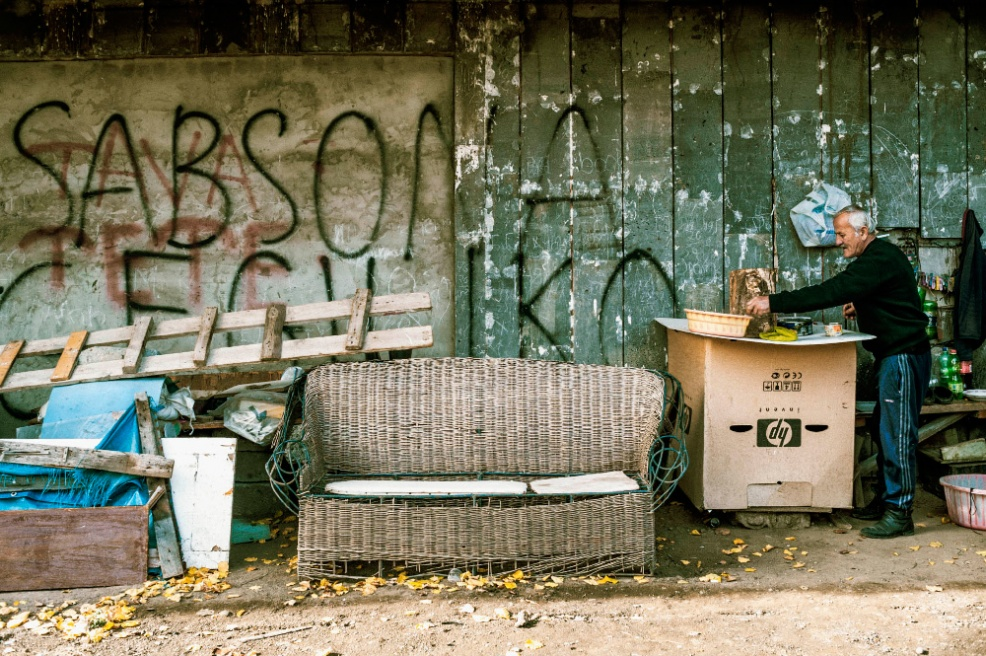 Art and Documentary Photography - Loading 11.Temo.Adeishvili.-arranged.his.workshop.outside.near.the.building.jpg