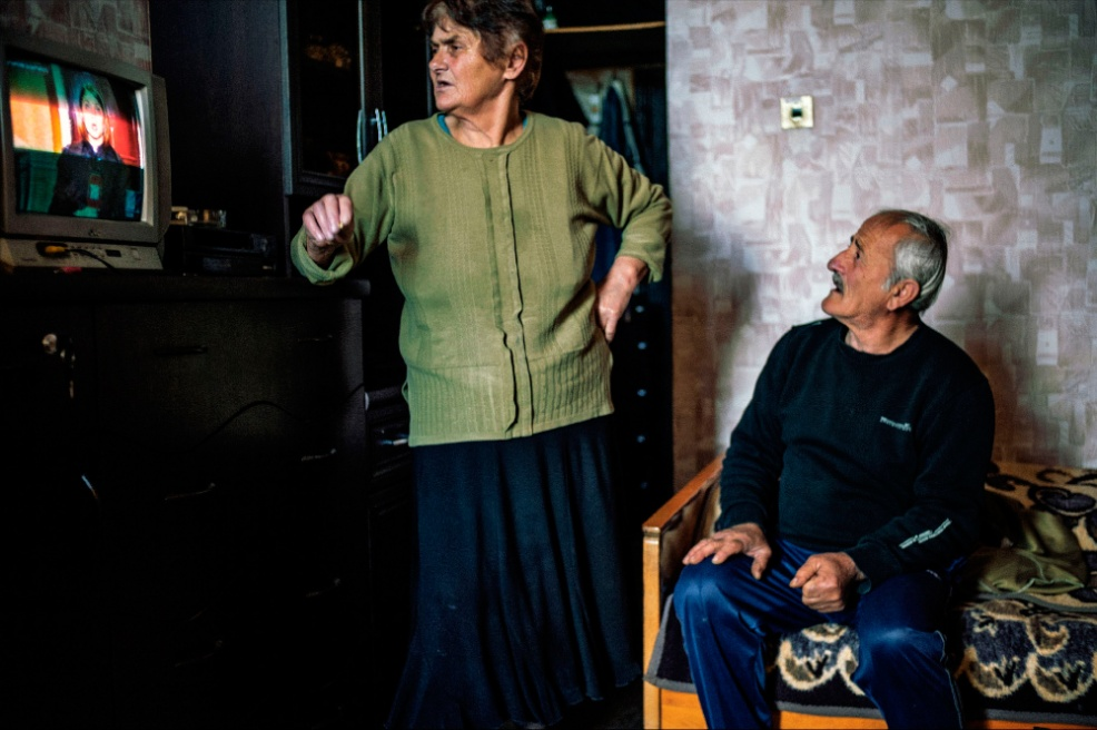 Art and Documentary Photography - Loading 12.Lana.and.Temo.Adeishvili.argue.about.content.while.watching.news.jpg