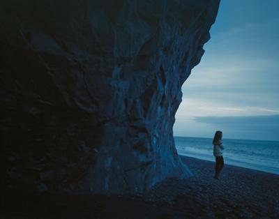 Self Portrait, Iceland, 2013