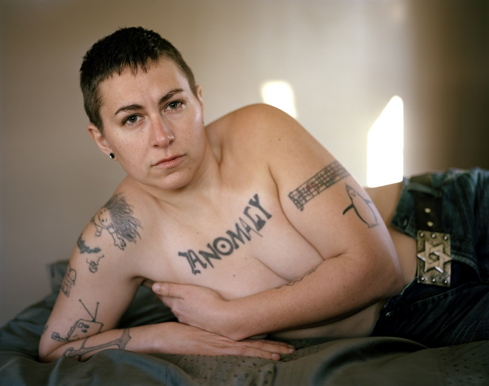 Art and Documentary Photography - Loading Korrie on the bed.jpg