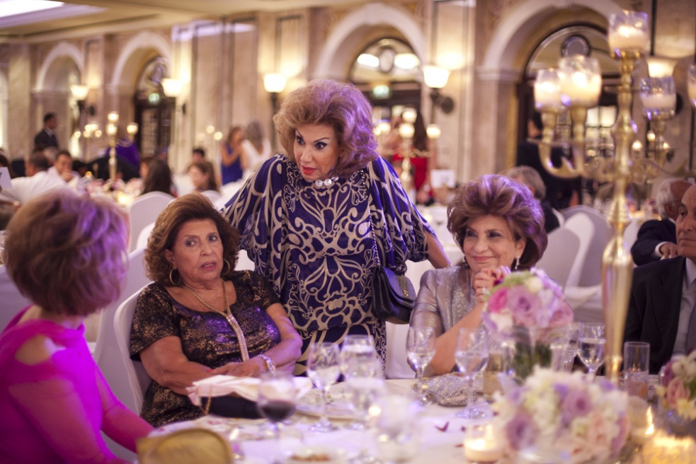 BEIRUT, LEBANON Ladies socialise, at the Dar Al Aytam charity Gala dinner, raising funds for a Druze orphanage in the mountains of Lebanon, at the Phoenicia Hotel in Beirut, Lebanon.