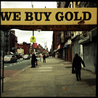 We Buy Gold, Harlem, #1