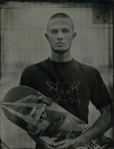 skaters - tintype series
