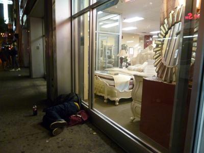 Street Sleeper, Harlem