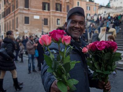 Street-vendors of Rome