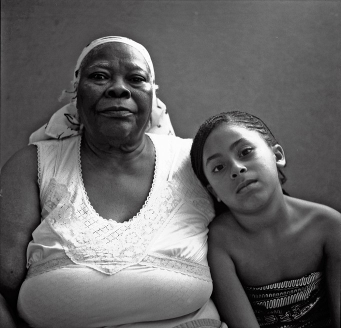 Art and Documentary Photography - Loading grandmother and granddaughter.jpg