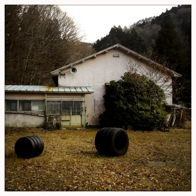 Oda - Miyama elementary school has remained abandoned since 2003. The high school, middle school and elementary school are all becoming integrated.