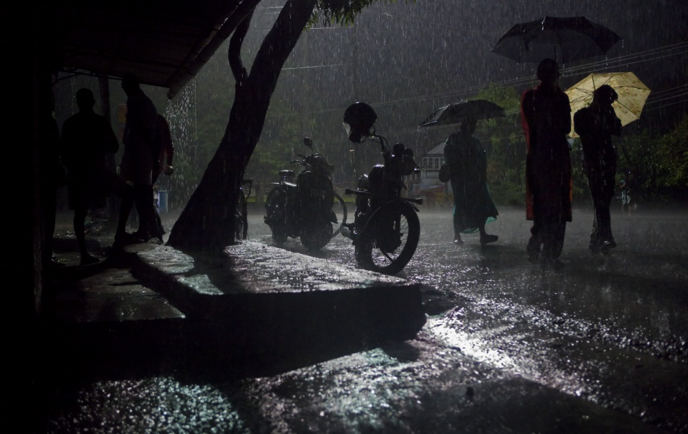 Art and Documentary Photography - Loading Rainy Streets of Kochin.jpg