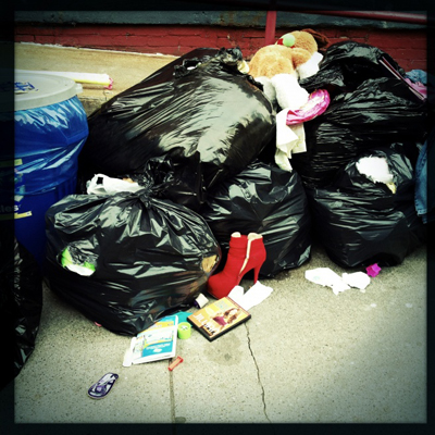 Personal Property, 123rd St., Harlem, NYC
