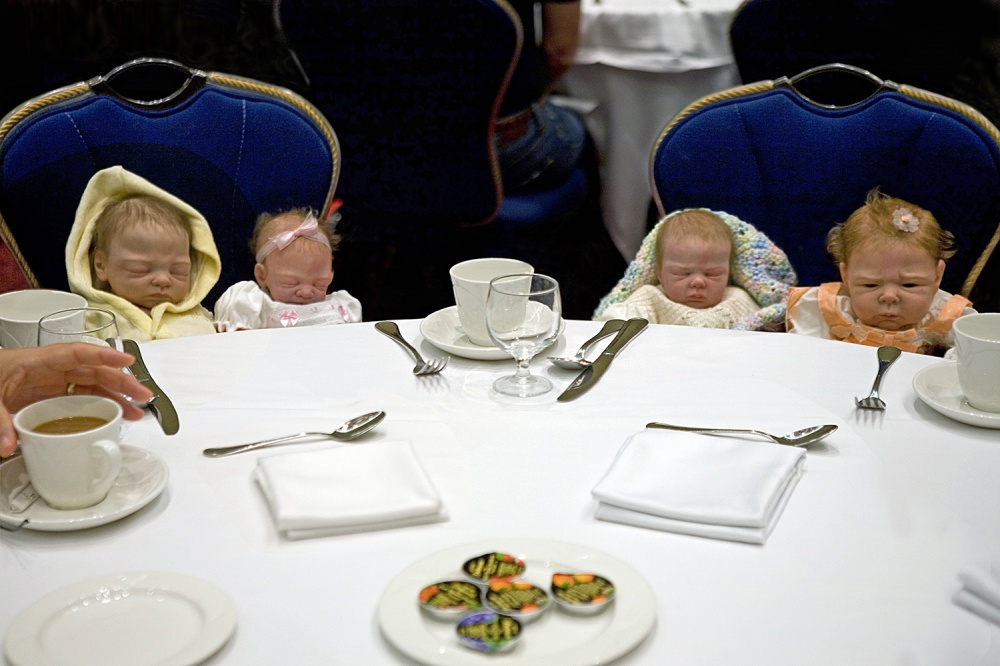 Art and Documentary Photography - Loading Babies at Brunch 2.jpg