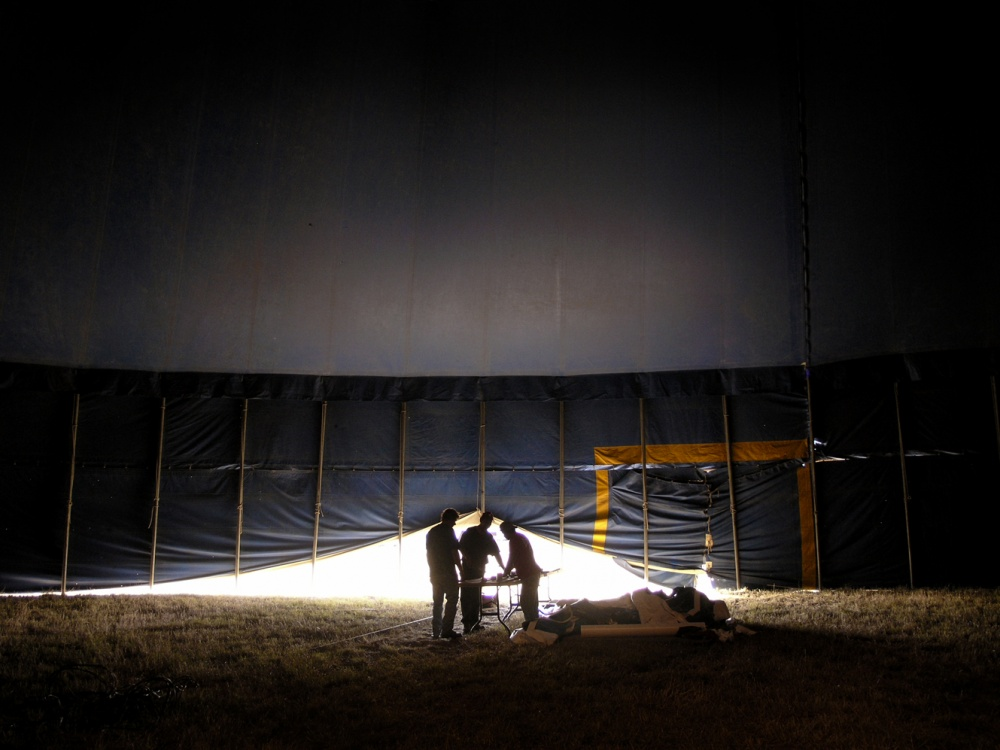 Art and Documentary Photography - Loading tent.jpg