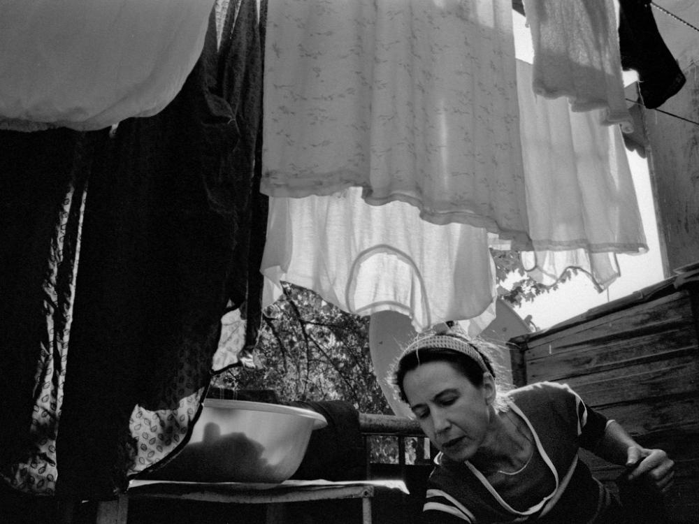 Art and Documentary Photography - Loading 04:Azerbaijan:Mark.Rafaelov:Irena.makes.space.loundry.jpg