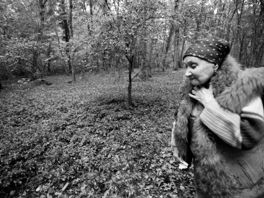 Art and Documentary Photography - Loading 13AzerbaijanMark.RafaelovInessa.walks.forest.alone.jpg