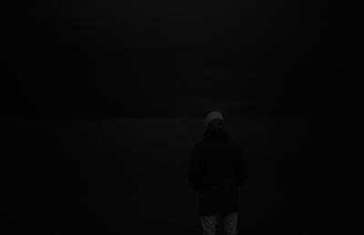 bright black / pitch white