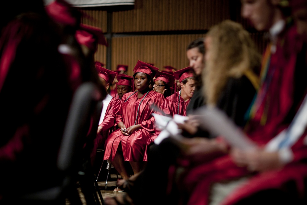 Nekqua graduates from Corcoran High School in Syracuse, NY. The school district has a graduation rate of 52%, which is lower than the state graduation rate of 88%.