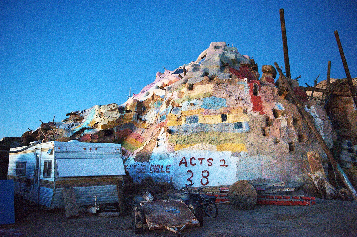 Salvation Mountain, Salton Sea, CA, 2013