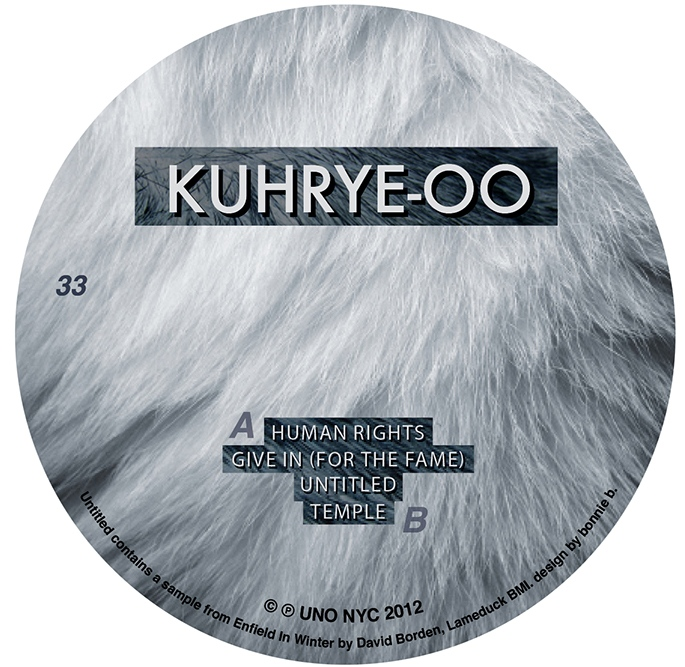 Kuhrye-oo B Side Record Center