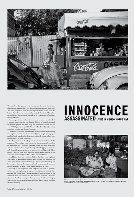 Innocence Assassinated Newspaper Photographs by Katie Orlinsky, 2012