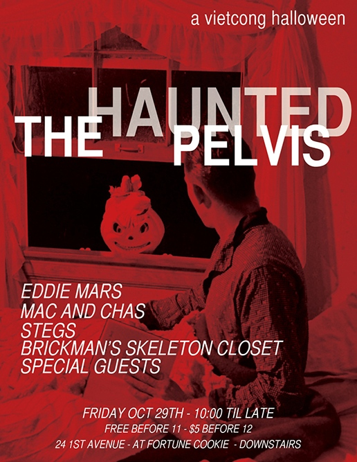 The Haunted Pelvis 2012