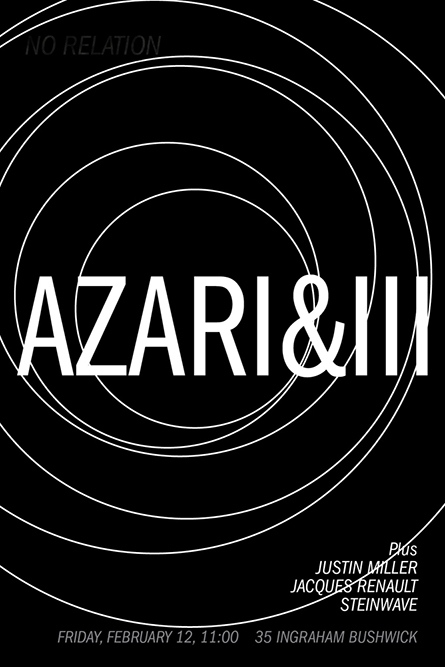 Azari&II No Relation, 2010
