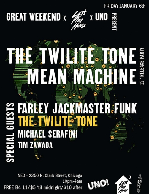 The Twilite Tone: Mean Machine UNO NYC Records and Let's Play House, 2012