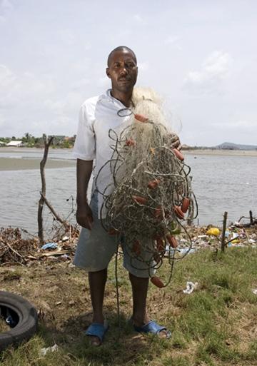 Osman Pardo Armeda, participant in La Boquilla project, by Roger Triana / 2005