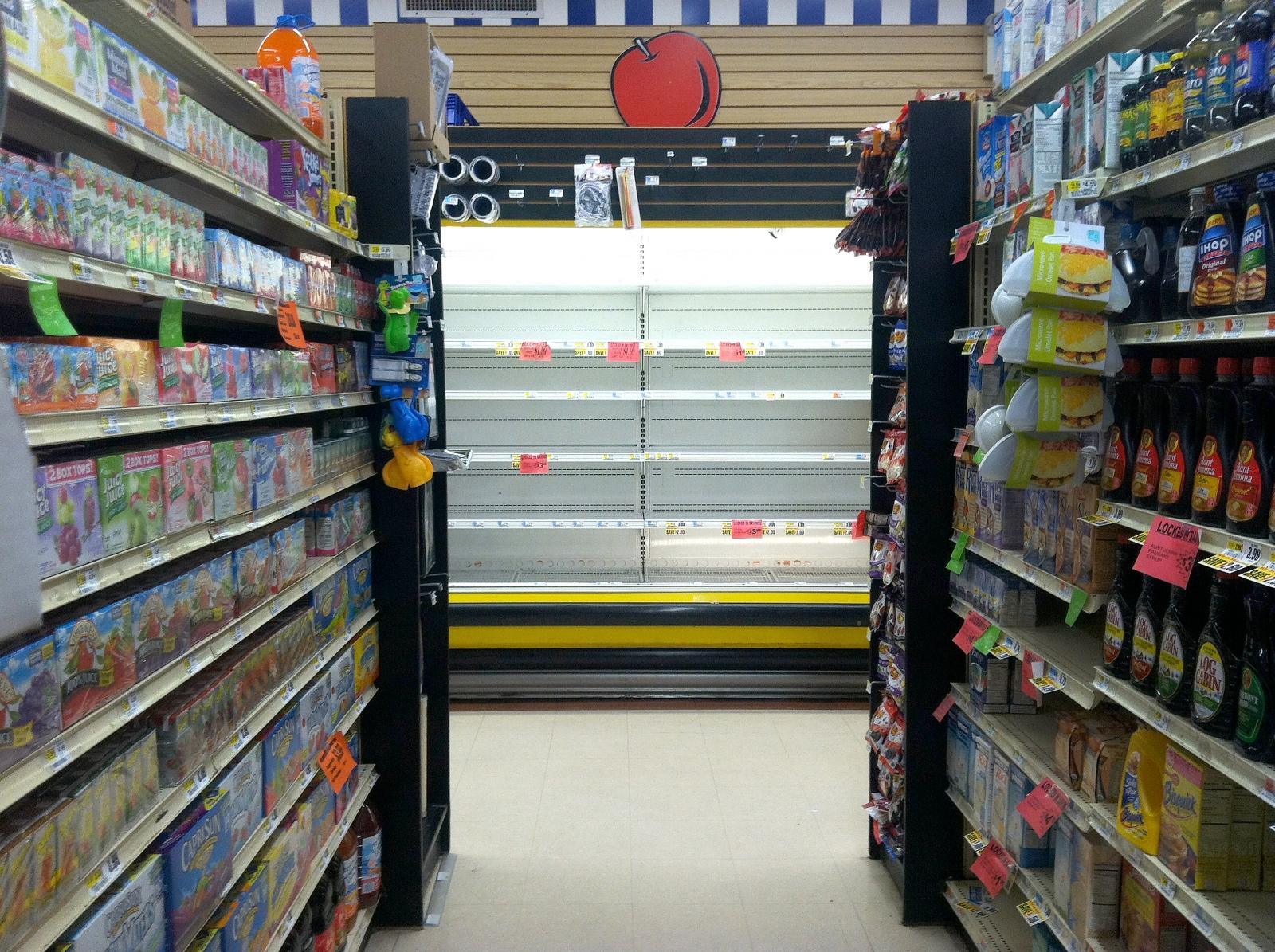 Dairy, Gristedes @ 1st Ave., 4 November / 2012