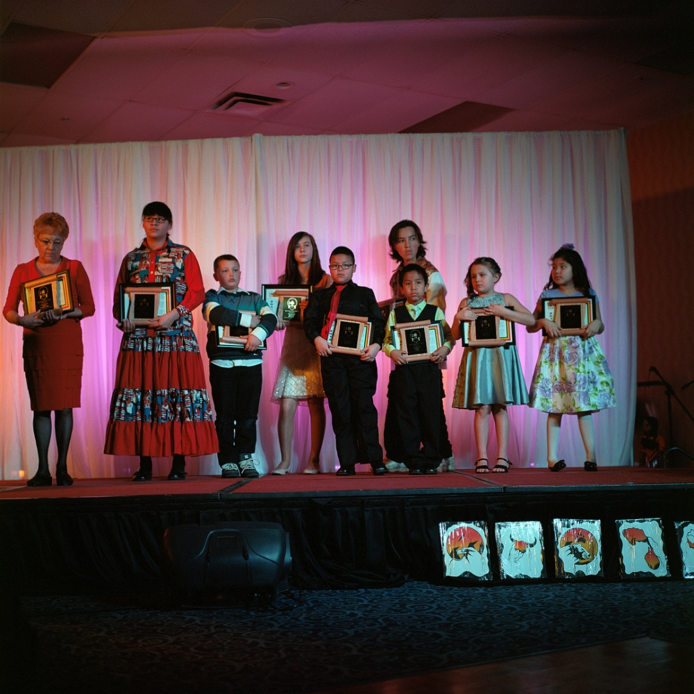 March 2012- Aboriginal youth are awarded for their achievements during the Regional Aboriginal Recognition Awards in Fort McMurray.