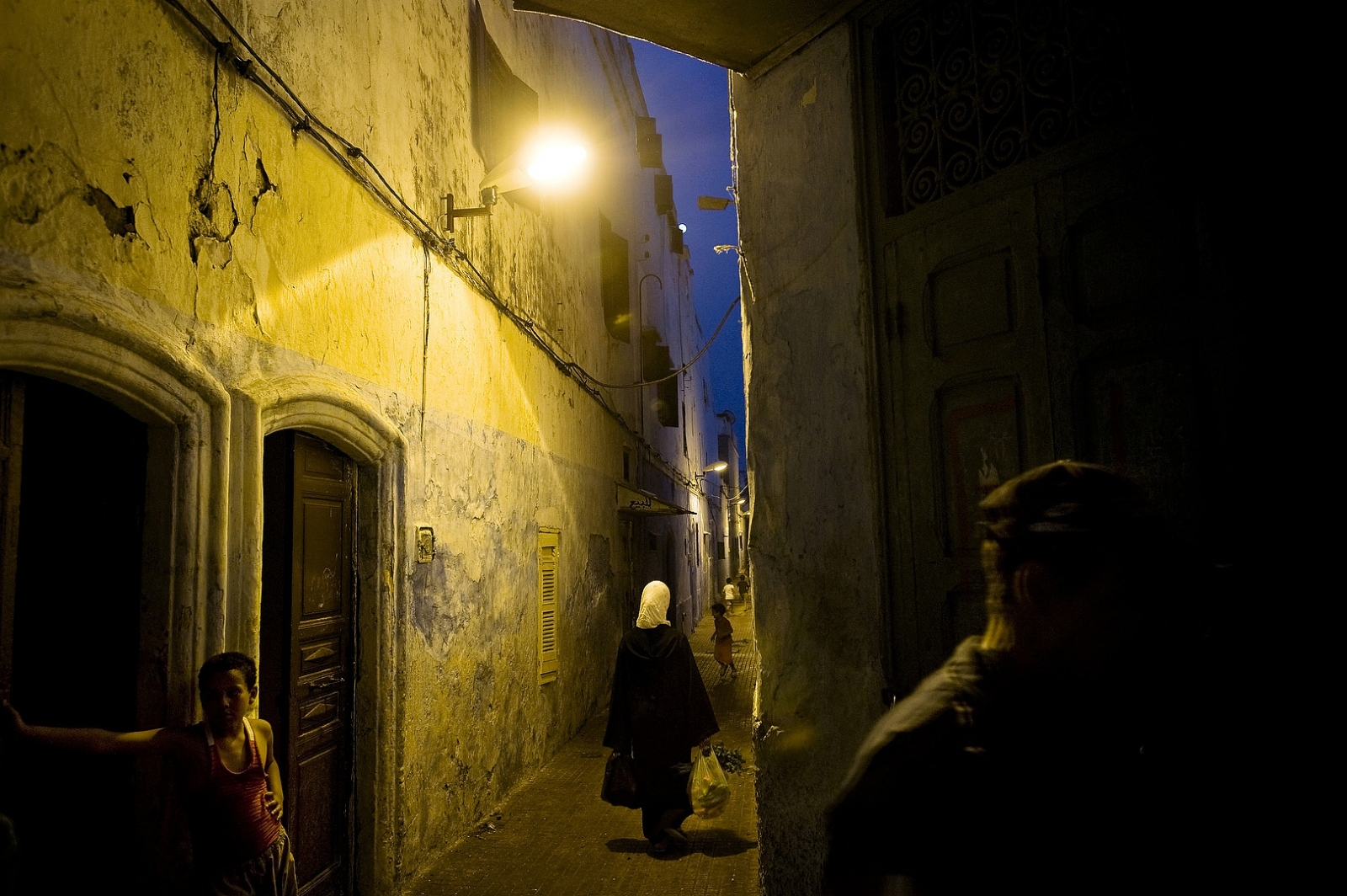 2009 - The Mellah of Rabat was once home to a large population of Jews, but  is now home to the poorest Muslims in the Medina.