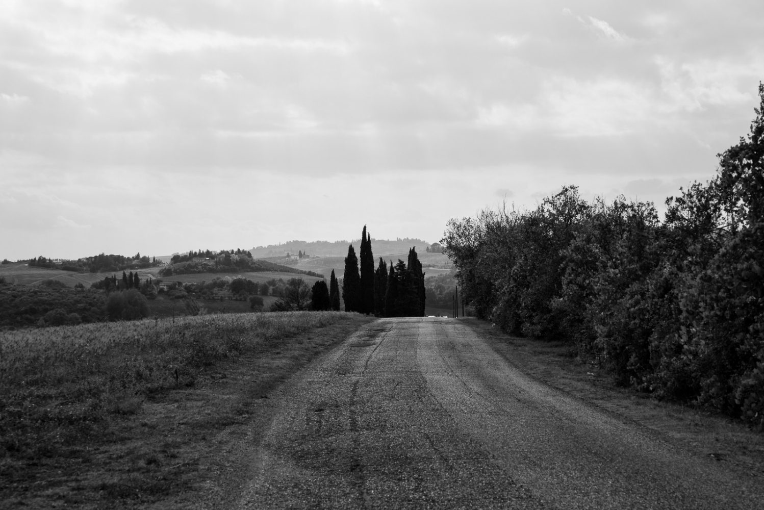 Art and Documentary Photography - Loading Tuscan Back Road.jpg