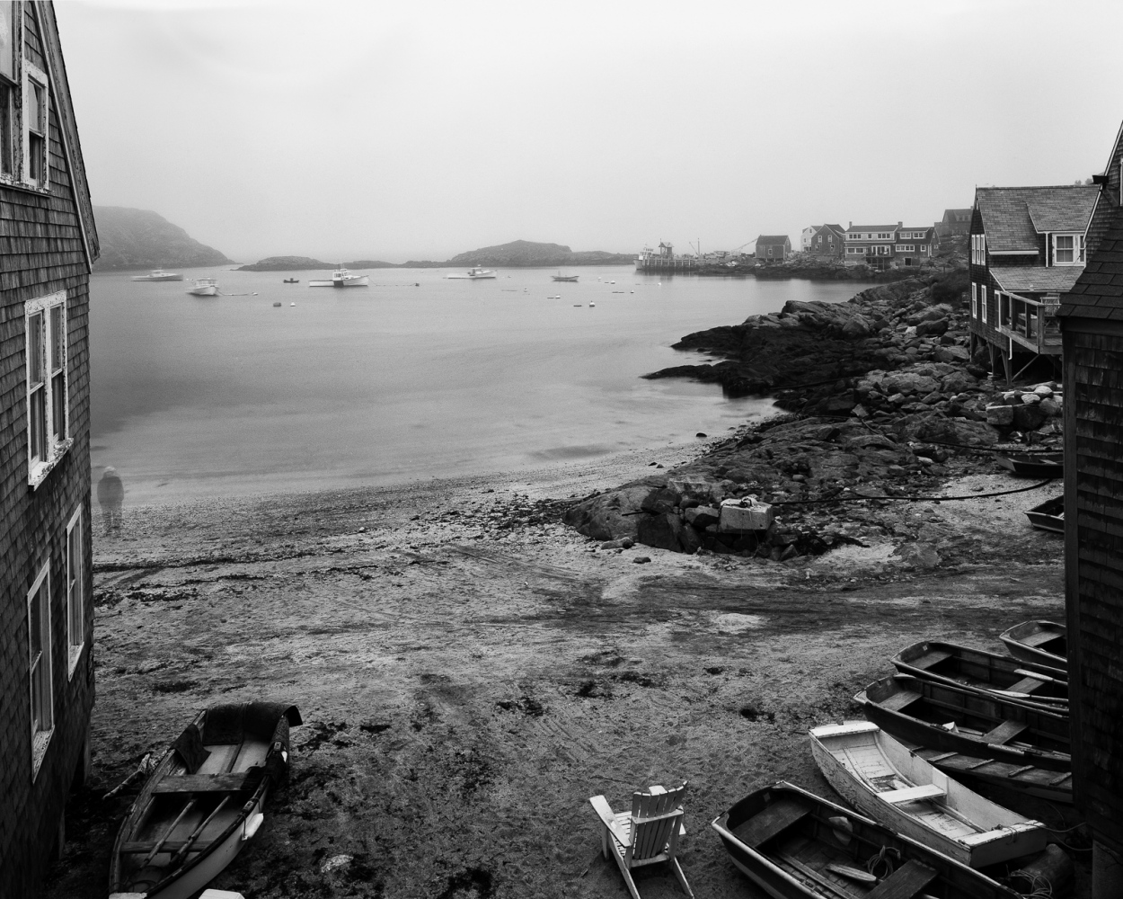 Art and Documentary Photography - Loading Fish Beach Monhegan.jpg