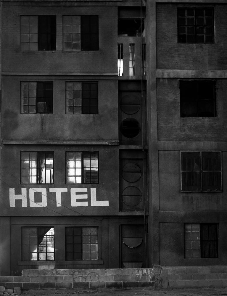 Hotel Calderon, Nuevo Laredo, Mexico March 2000