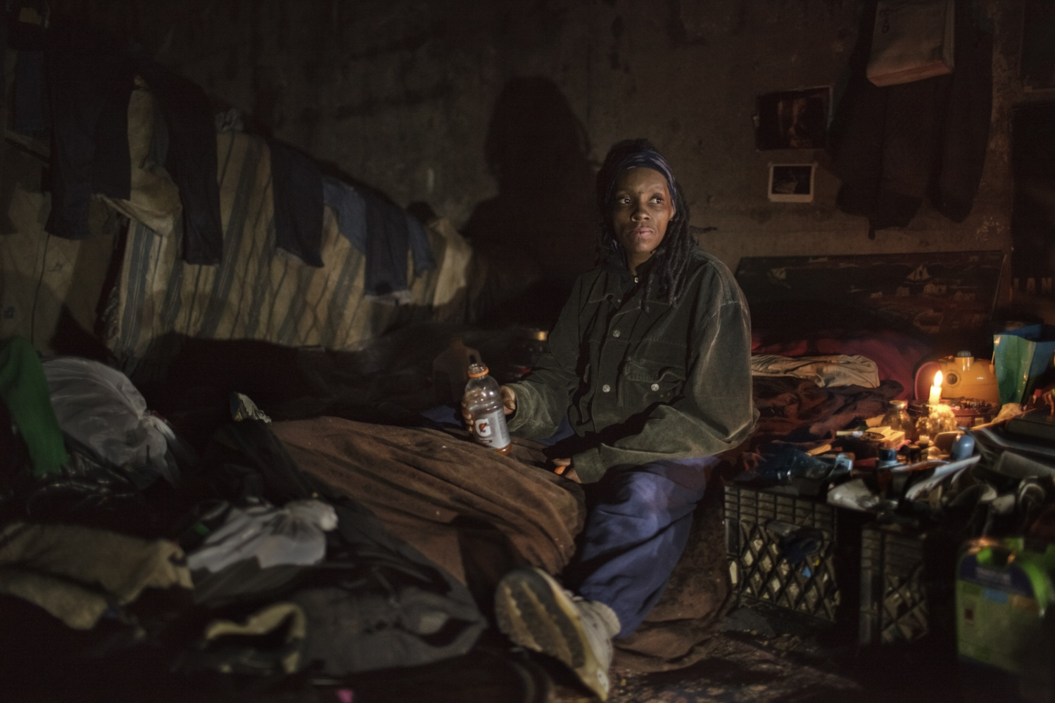 Further in to the tunnel, Brooklyn was not bothered during the raid in 2010. She also was allowed to stay during the massive eviction during the 90's.