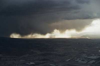 A storm over Nevada, NV