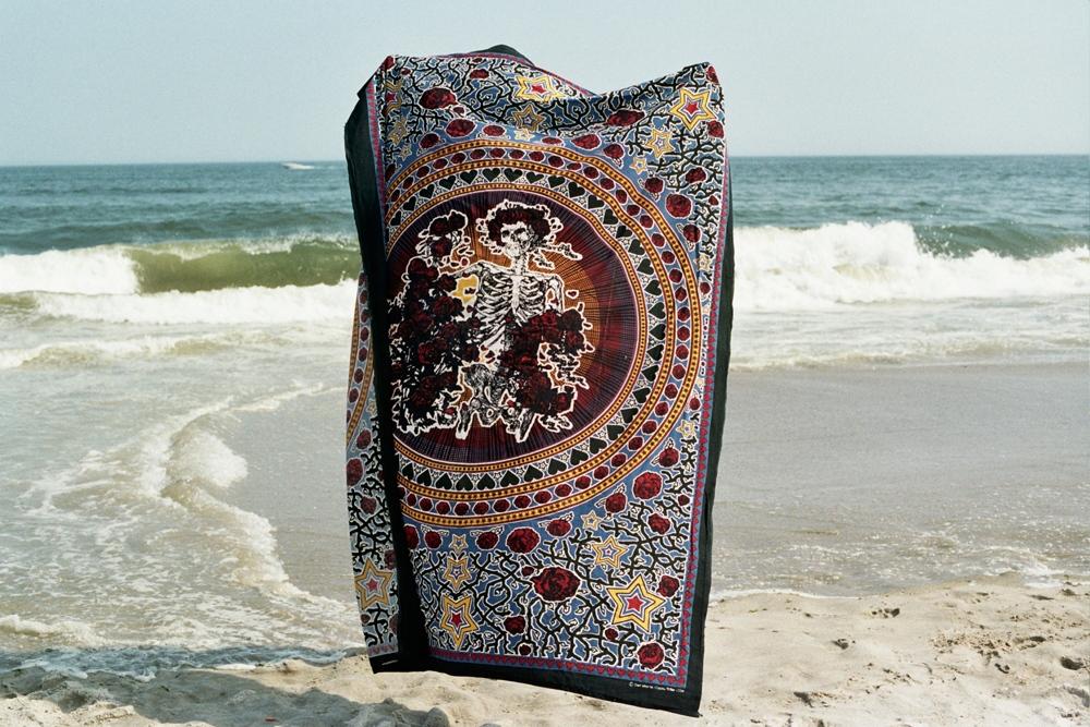 Monica's beach blanket, Brooklyn, NY
