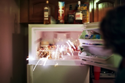 Fireworks in the freezer, Queens, NY
