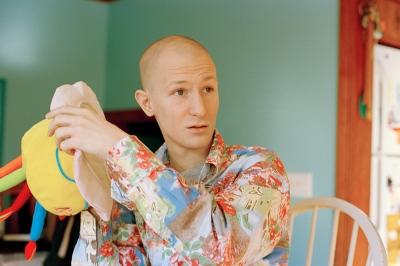Matt on his 100th day in remission, Barrington, RI