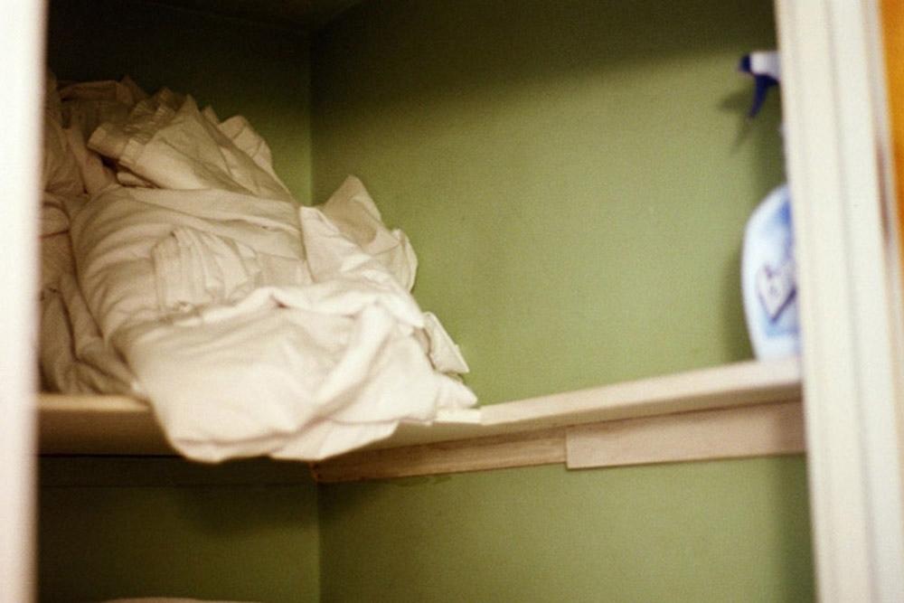The green linen closet, Barrington, RI