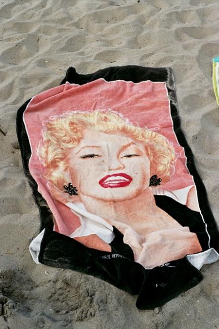 A Marilyn towel, Brooklyn, NY