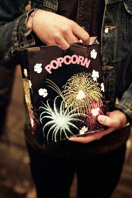 Movie theater popcorn, Brooklyn, NY