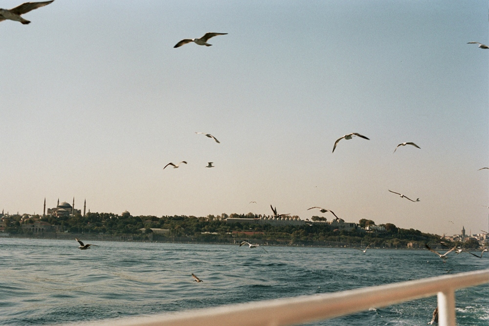 Crossing the Bosphorus, Istanbul, Turkey