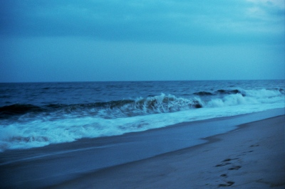 Blue waves, Southampton, NY