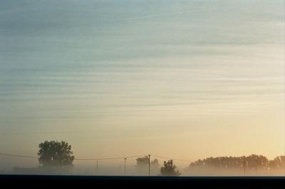 Fog in the morning, Verona, Italy