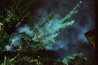 Smoke from the grill, Verona, Italy