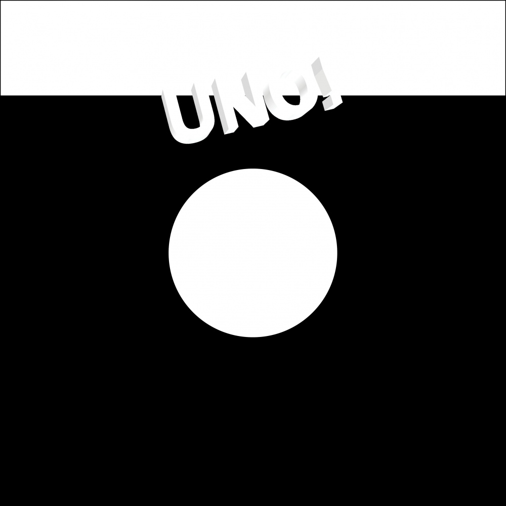 UNO NYC Records record sleeve back