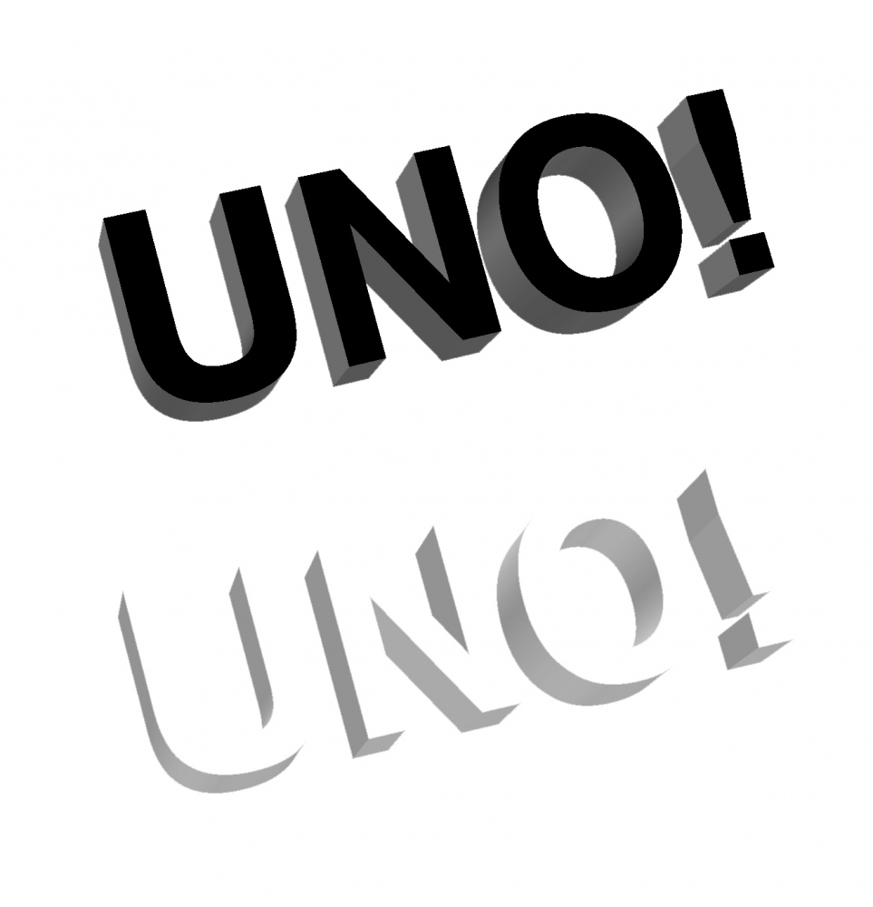 UNO NYC Records Logo design