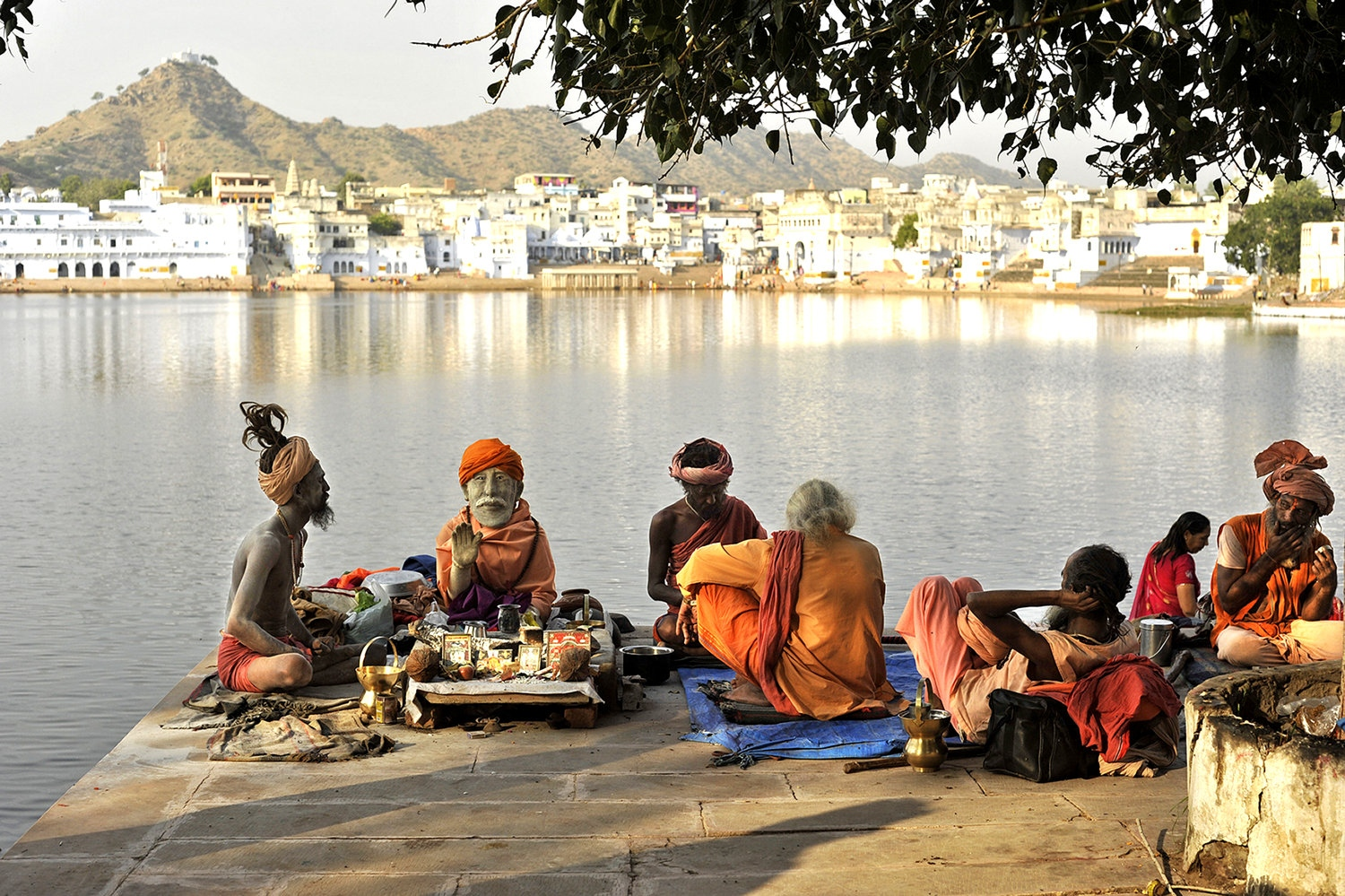 Gods of Holy Lake. Pushkar