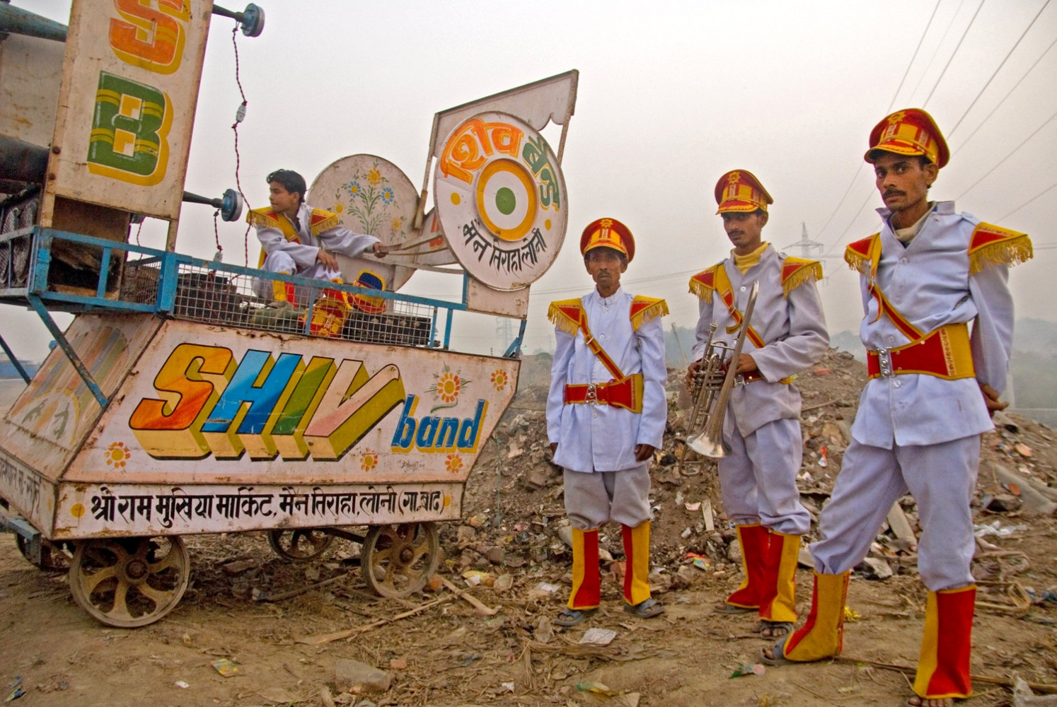 Band on the Run. Delhi