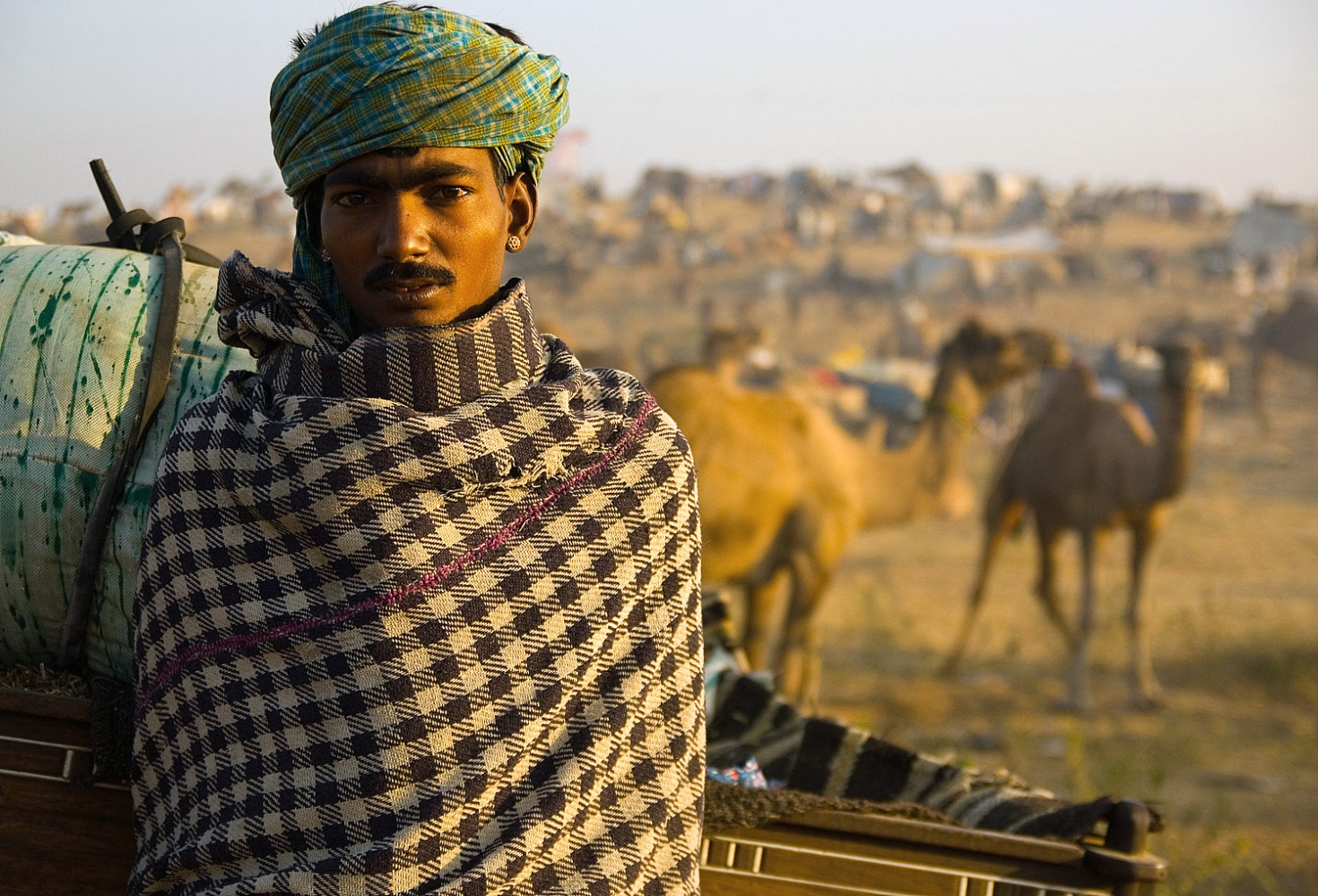 The Camel Herder. Pushkar